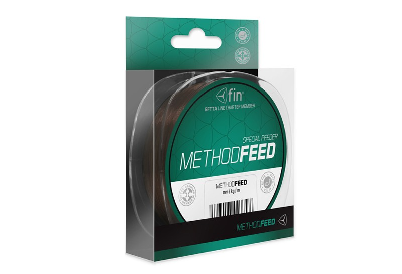 FIN Method FEED hnědá 300m
